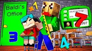 Minecraft - BALDI'S BASICS - BALDI SPANKED ME?!