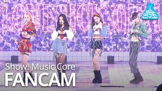 [예능연구소 4K] 블랙핑크 직캠 'Lovesick Girls' (BLACKPINK FanCam) @Show!MusicCore 201010