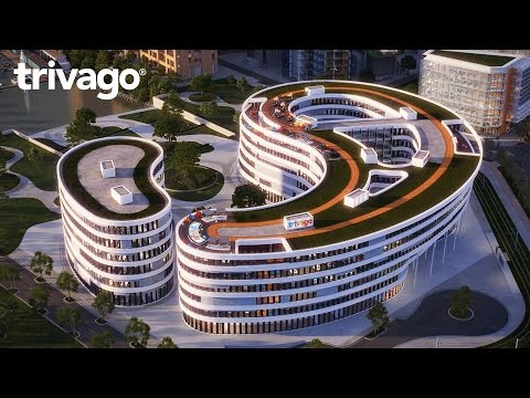 Here's a sneak preview of trivago's new state-of-the-art campus it plans to relocate to in 2018. It might be Europe's coolest tech campus yet. With 222% growth since 2012, the multinational team of 950 needed room to grow. Wanna know more? Read the full story at http://trv.to/trivagoCampusUS