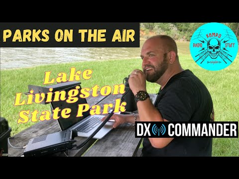 POTA Lake Livingston State Park   DX Commander Expedition Antenna