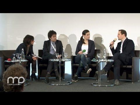 Diskussion: Einblick in Web-Only-Produktionsstätten und -Formate