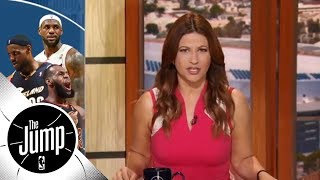 Rachel Nichols: A history of LeBron James being clutch | The Jump | ESPN