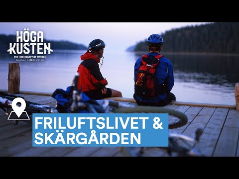 Upptäck friluftslivet & skärgården i Höga Kusten i sommar