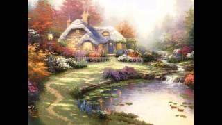 Tranh làng quê, tranh quê hương, tranh phong cảnh quê hương đẹp
