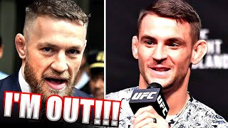 BREAKING! Conor McGregor Threatens to PULL OUT of Dustin Poirier Fight (Conor Rages)