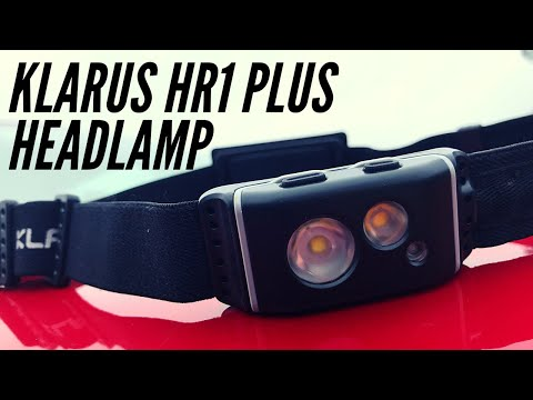 Klaus HR1 Plus Headlamp: 600 Lumens and Only 1.62 Ounces - Built for Hiking, Running, and More