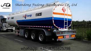 Good price fuel oil tanker semi trailer for sale