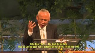 Điều Răn Thứ 3: Tôn Kính Danh Chúa