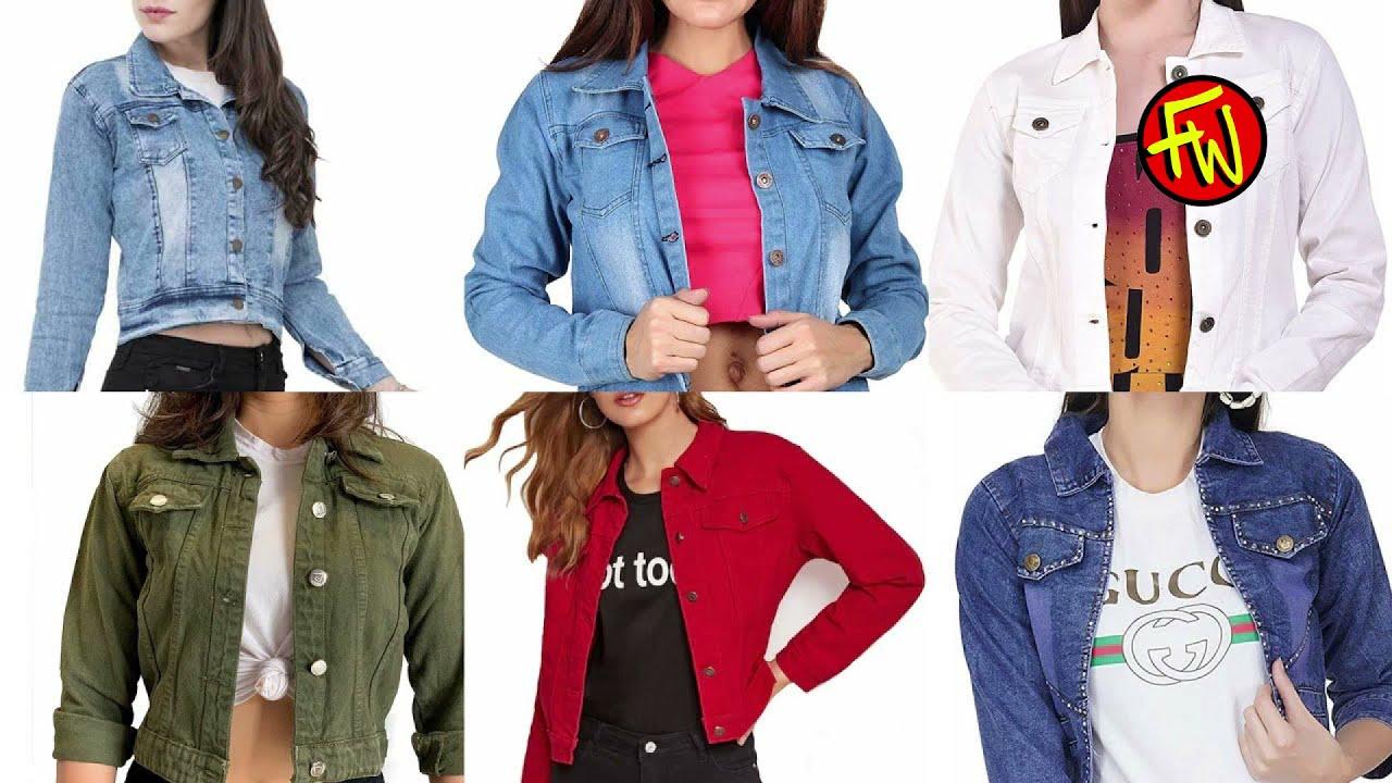 Full Sleeve Denim Jacket Coolest Girls Jacket from Jeans