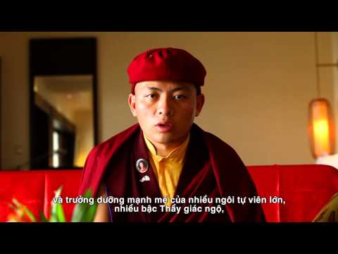 Message from His Eminence Thuksey Rinpoche on first day of visit to Viet Nam, April 2014