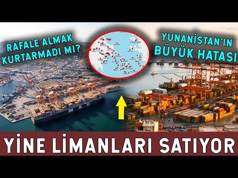 Yunanistan'dan Satılık Liman! Güç Gösterisi Ters Tepti!