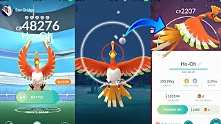 HOW TO PROPERLY THROW AT HO-OH IN POKEMON GO! THE BEST METHOD TO CATCH HO-OH!