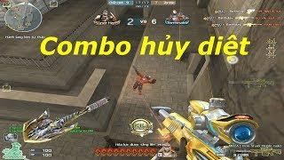 [ Bình Luận CF ] M82A1-Iron Shark-Noble Gold  - Tiền Zombie v4