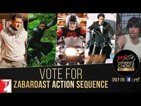 Zabardast Action Sequence | YRF Viewer's Choice Awards | Vote & Win