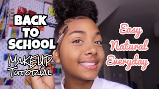 GRWM Natural Back To School Makeup Tutorial | LexiVee03