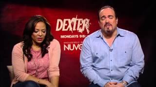 Dexter Exclusive: Lauren Velez and David Zayas