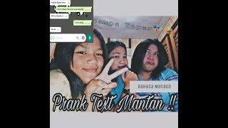 PRANK TEXT MANTAN !!||SAMPE BAPER😱😅(BAHASA MANADO)