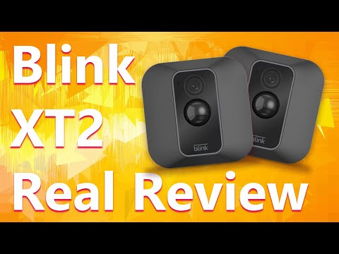 video Blink XT2 Outdoor/Indoor Smart Security Camera with cloud storage included, 2-way audio