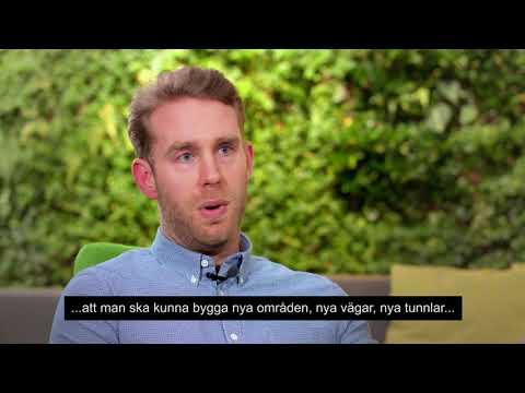 Förrättningslantmätare Niklas Forslund