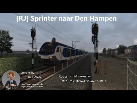 Scenario: [RJ] Sprinter naar Den Hampen