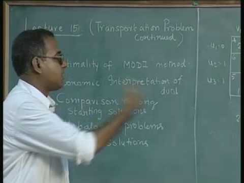 Baixar Lec-15 Transportation Problem-Other Issues