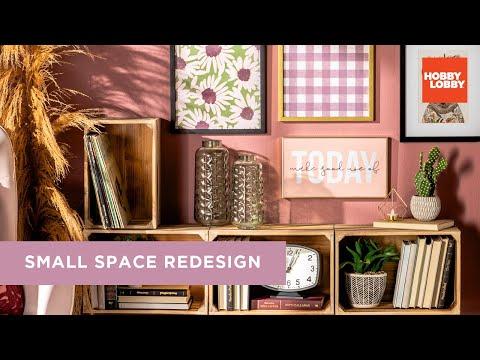 Small Space Decor Ideas | DIY Room Makeover | Hobby Lobby®