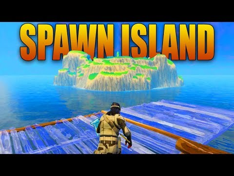 BUILDING TO SPAWN ISLAND in Fortnite Battle Royale!