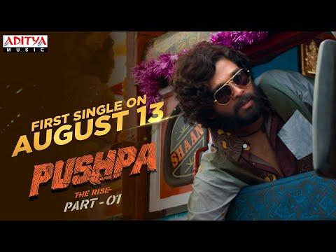First single promo from Pushpa starring Allu Arjun, Rashmika, Fahadh Faasil