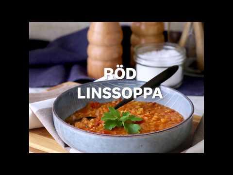 Röd linssoppa - WW ViktVäktarna
