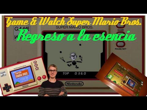 Probando: Game & Watch Super Mario Bros 35 Aniversario