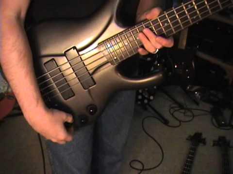 Ibanez EDC 705 Ergodyne 5 String Bass Guitar Review Scott Grove