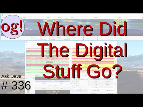 Where Did All The Digital Activity Go? FT8! (#336)