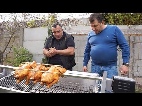 Приготовление курицы-гриль. Эксперимент на новом мангале. photo