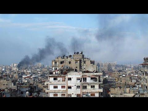 Újra robbannak a bombák Szíriában