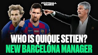 New Barcelona Manager Quique Setien: The Lowdown | B/R Football Ranks