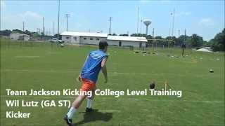 Wil Lutz | Georgia State Kicker | Team Jackson Kicking Training