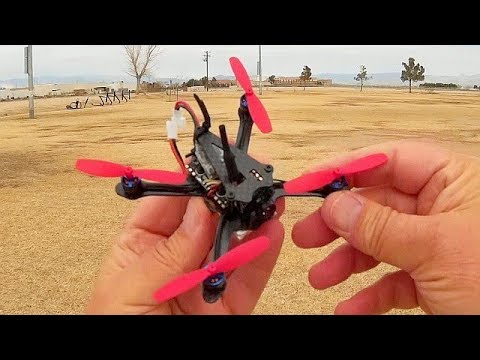 Aurora RC A100 Brushless 1S Micro FPV Racer Drone Flight Test Review