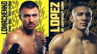 Fight Promo: Vasyl Lomachenko vs Teofimo Lopez   Lightweight Title Unification Bout   Oct 17, 2020