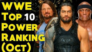WWE Top 10 Power Rankings October 2018
