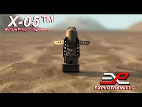 Explotrain's X-05 Mid-Size Battlefield Effects Blast Simulator