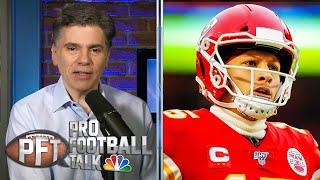 Chiefs' Patrick Mahomes should be motivated by NFL Top 100 spot | Pro Football Talk | NBC Sports