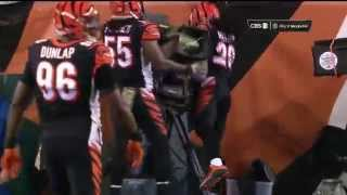Bengals LB Vontaze Burfict Lays a Big Hit...On A Camera! | Browns vs. Bengals | NFL