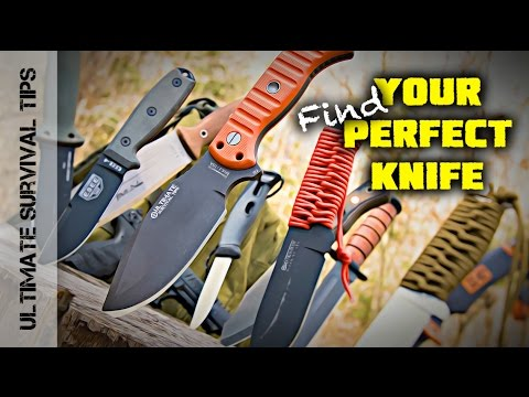 NEW! Top 10 Survival Knife Features (You Need) + Find Your Best Blade