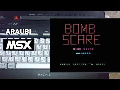 Bomb Scare (Electric Adventures, 1985) MSX [468] Walkthrough Comentado
