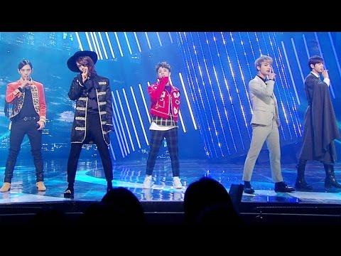 《Comeback Special》 BEATWIN (비트윈) - Rising Sun (태양이 뜨면) @인기가요 Inkigayo 20161211