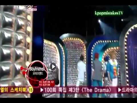 [kpopmistakesTV] Kwangmin & Youngmin | mistake - Boyfriend; Intro + Boyfriend live | (*BONUS)