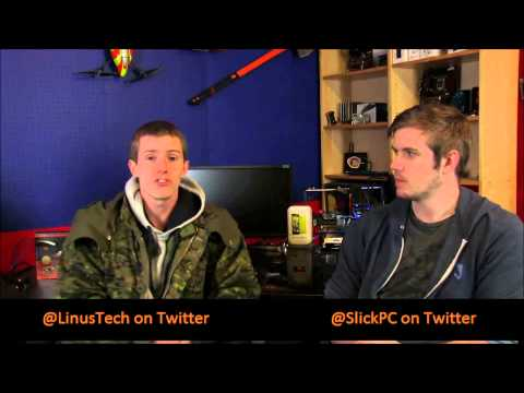 STEIGER DYNAMICS LEET Gaming HTPC featured on Linus Tech Tips (January 19, 2013)