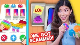 Fidget Trading Scam Apps