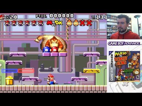 MARIO VS DONKEY KONG (Game Boy Advance / GBA) - Gameplay en Español