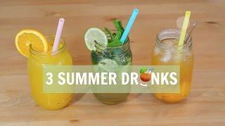 3 thức uống giải nhiệt cho mùa hè - 3 Summer Drinks ♡Truc's hobbies♡